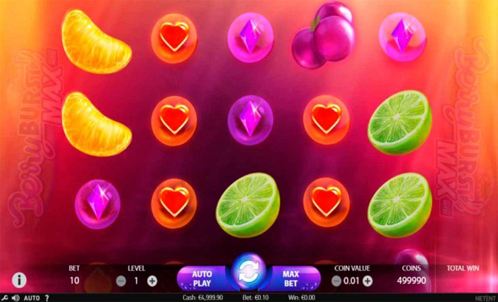Berryburst MAX SLot Free Play