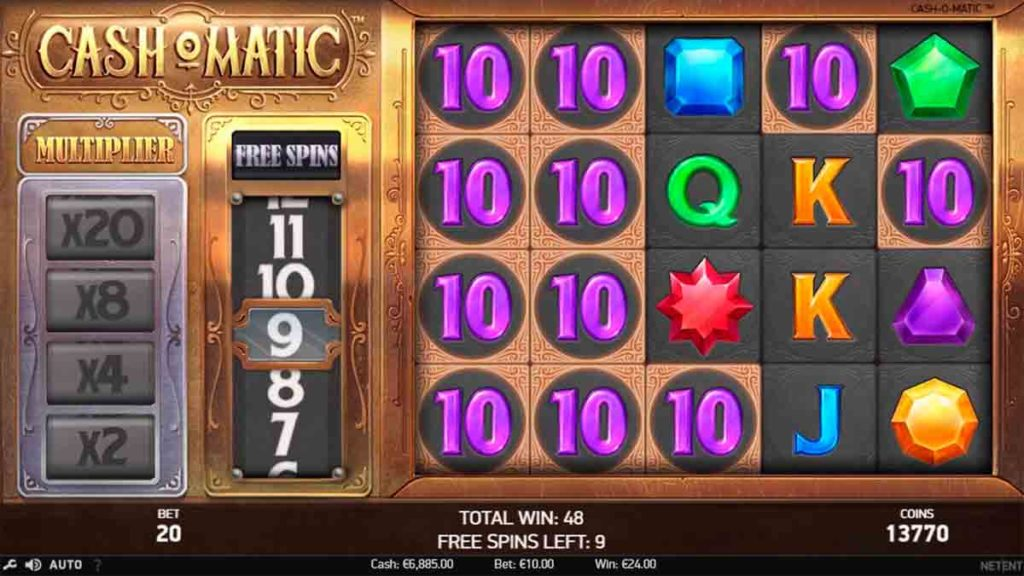 Play For Free Cash-O-Matic Slot