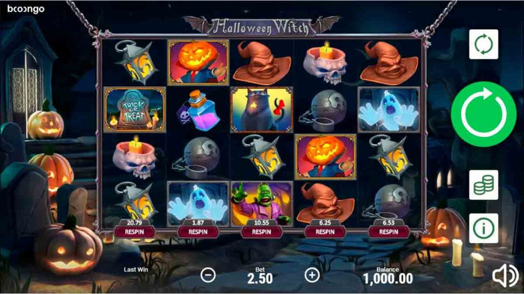 Play Halloween Witch Free Slot