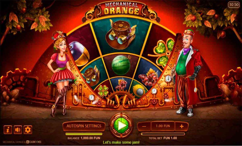 Play For Fee Mechanical Orange Slot