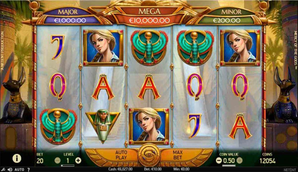 Play Mercy of the Gods Slot Free