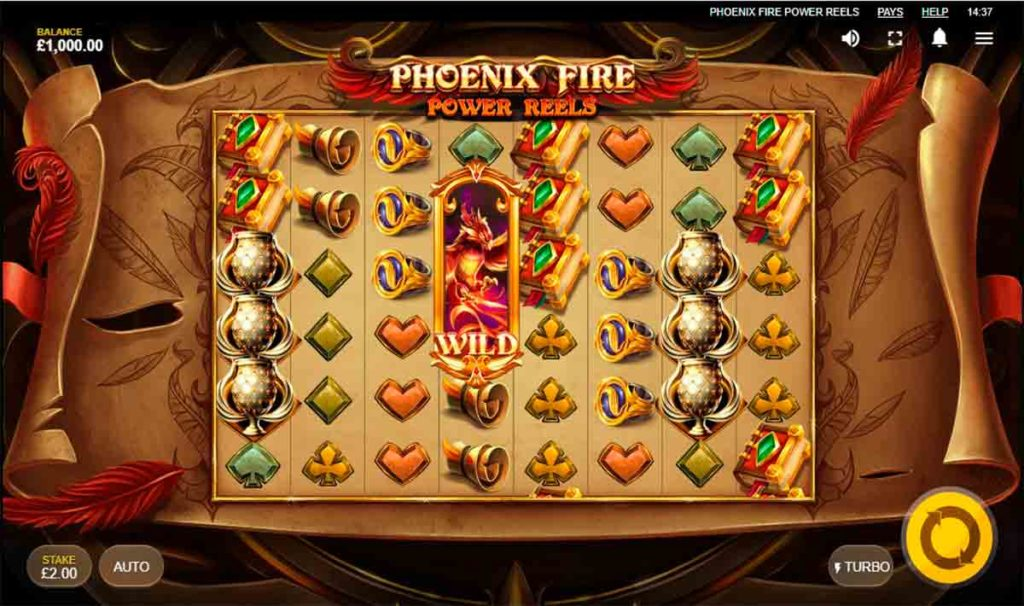 Play Phoenix Fire Power Reels Free Slot