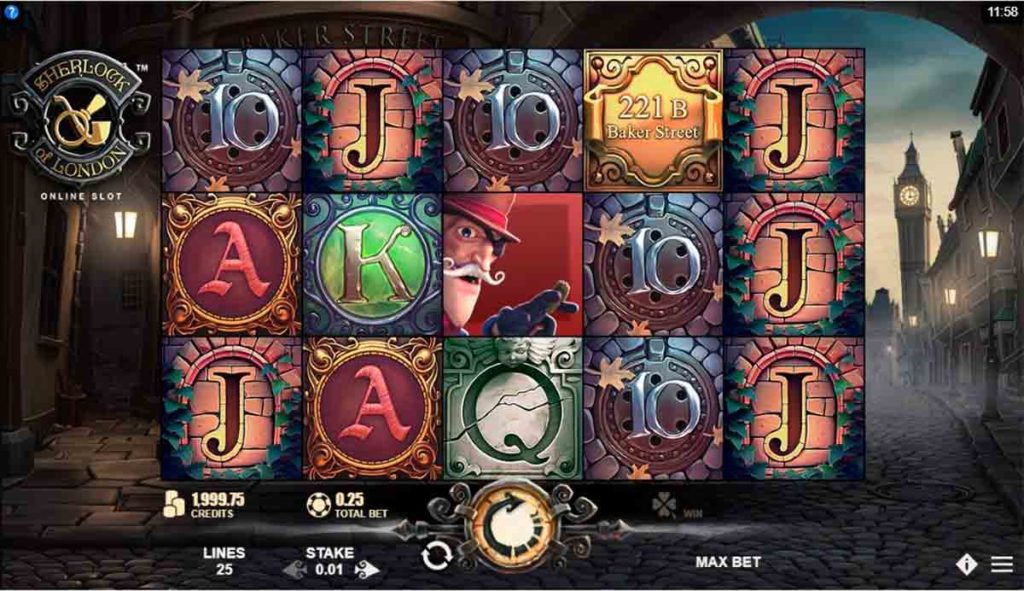 Play for free Sherlock of London Slot