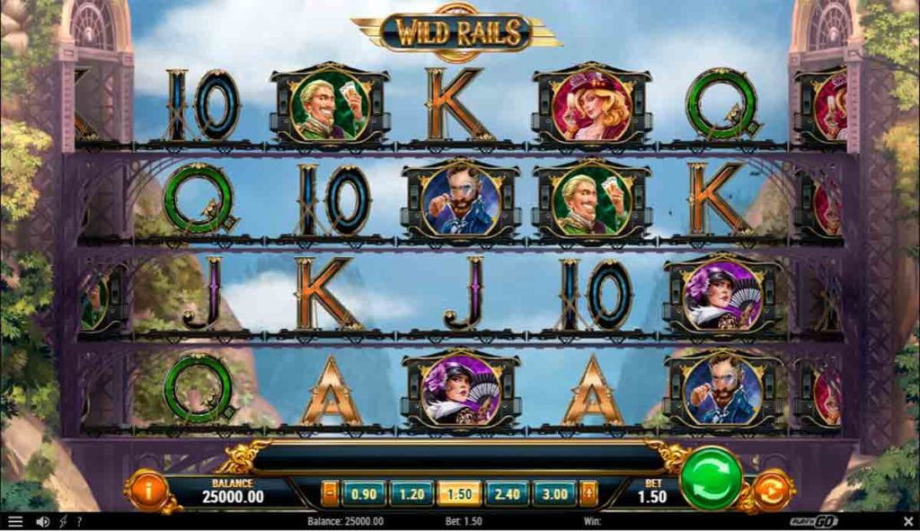 Play For Free Wild Rails Slot
