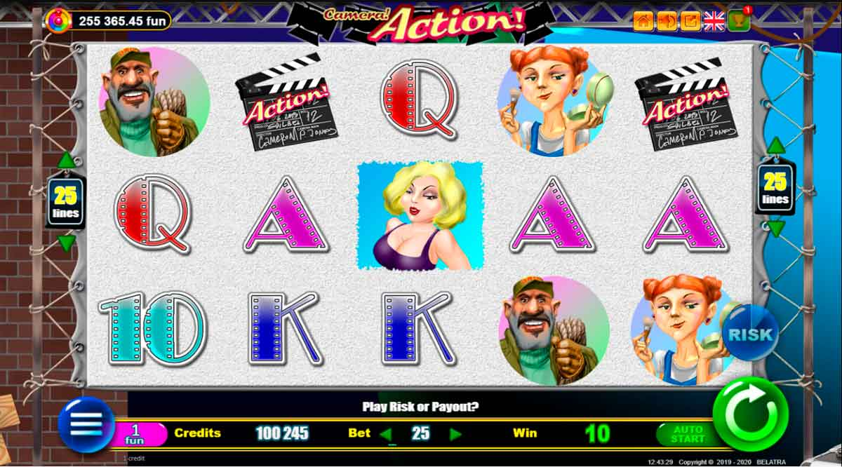 Play Free Action! Slot