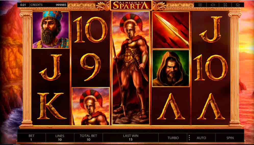 Play For Free Almighty Sparta Slot