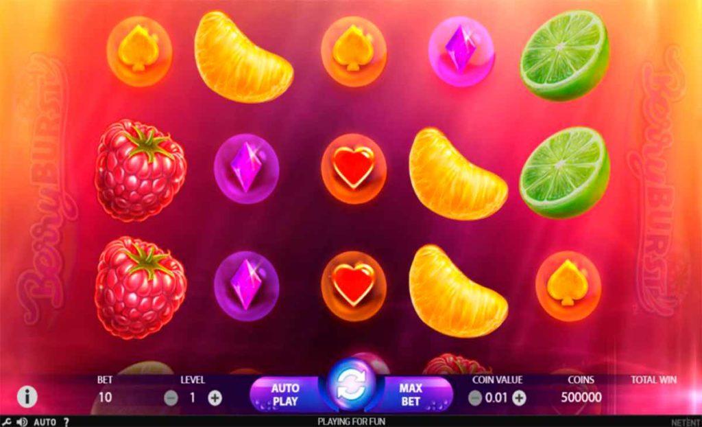 Play For Free Berryburst SLot