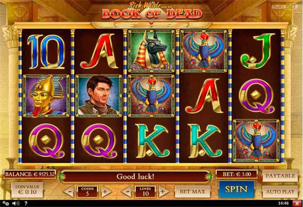 Play for Free Book of Dead slot