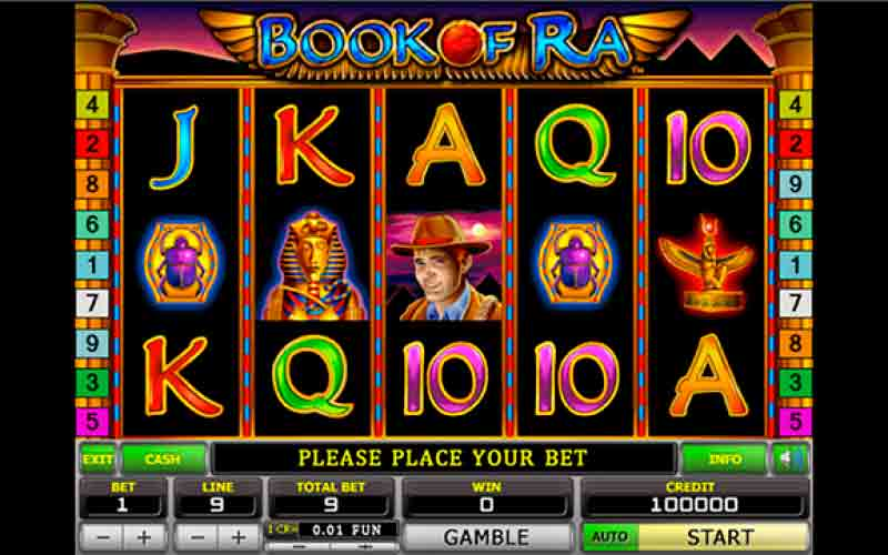 Play For Free Book of Ra slot