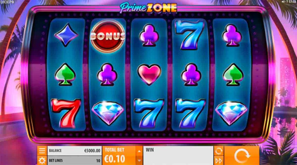Play For Free Prime Zone Slot