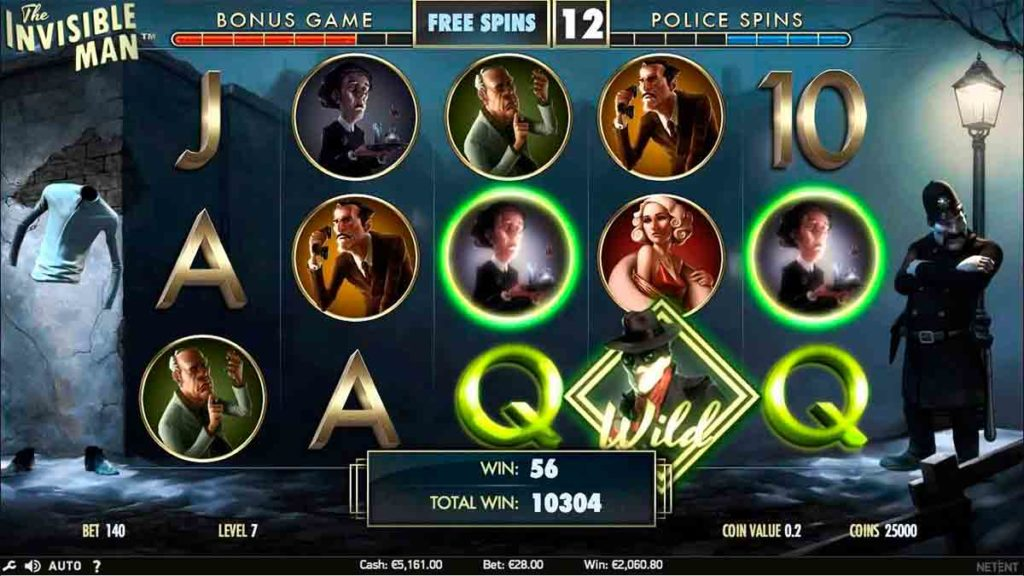 Play For Free The Invisible Man Slot