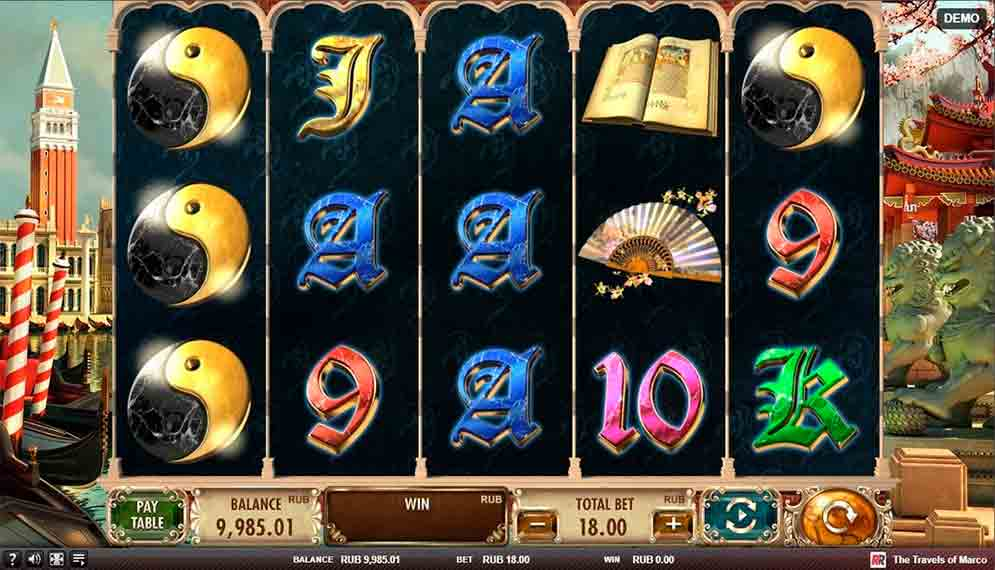 Play For Free The Travels Of Marco Slot