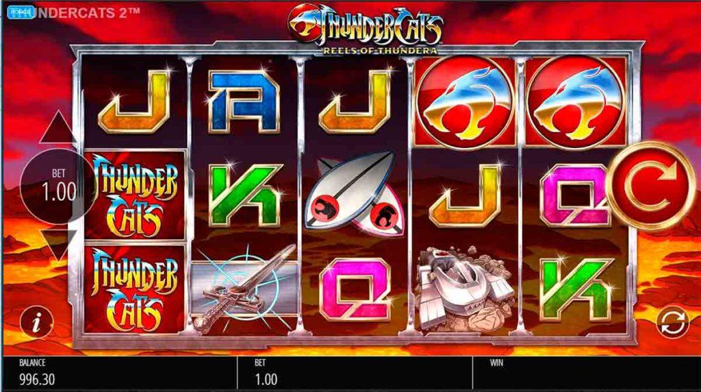 Play For Free Thundercats Reels of Thundera slot