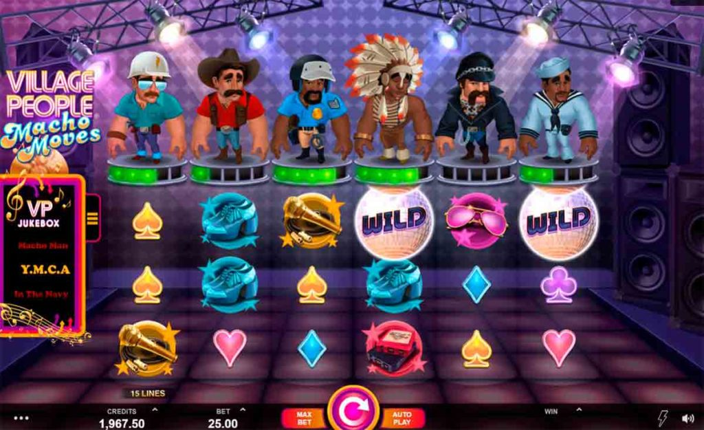 Play For Free Village People Macho Moves Slot