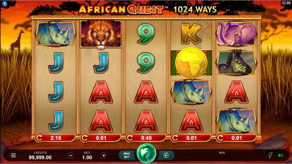 Play Free African Quest Slot