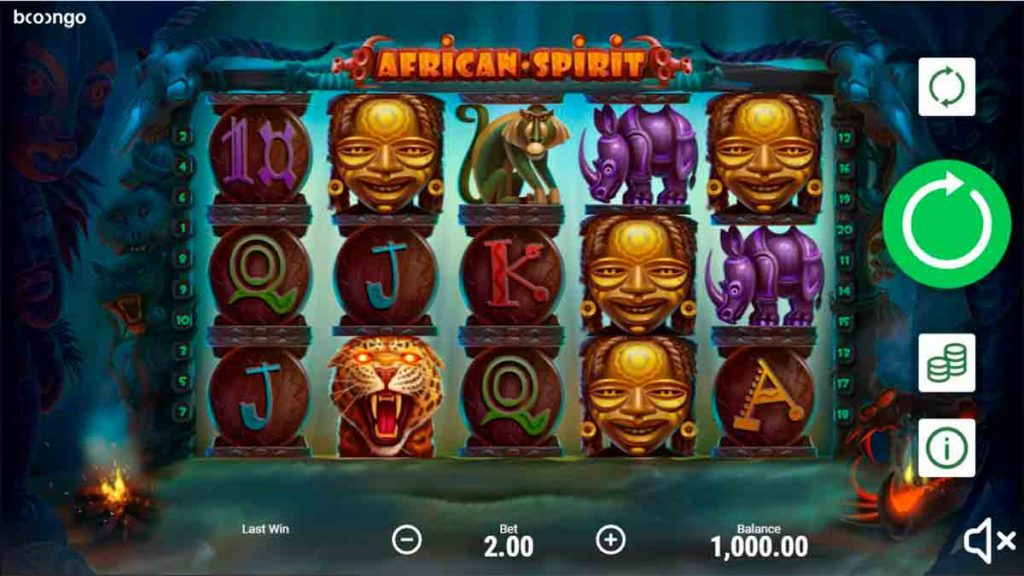 Play For Free african spirit slot