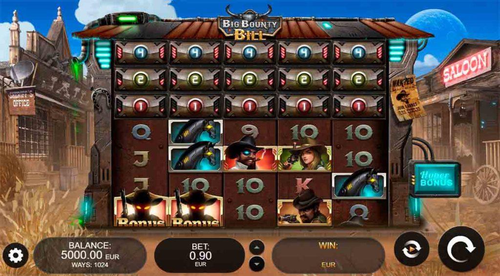Play Free Big Bounty Bill Slot