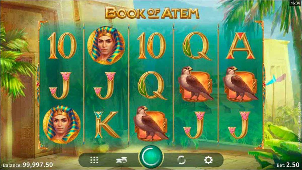 Play Free Book of Atem Slot