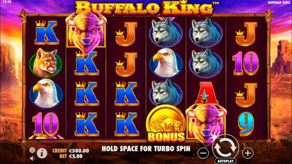 Play Free Buffalo King Slot