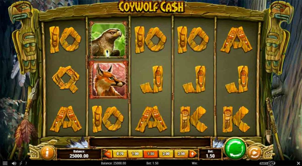 Play Free Coywolf Cash Slot