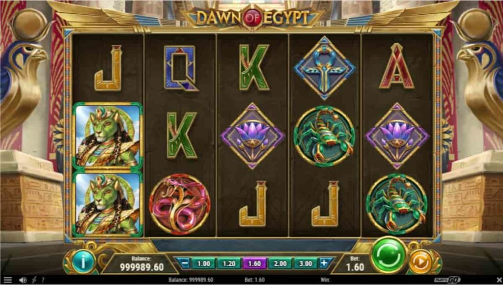 Play Free Dawn of Egypt Slot