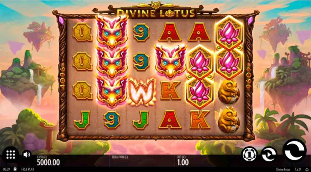 Play Free Divine Lotus Slot