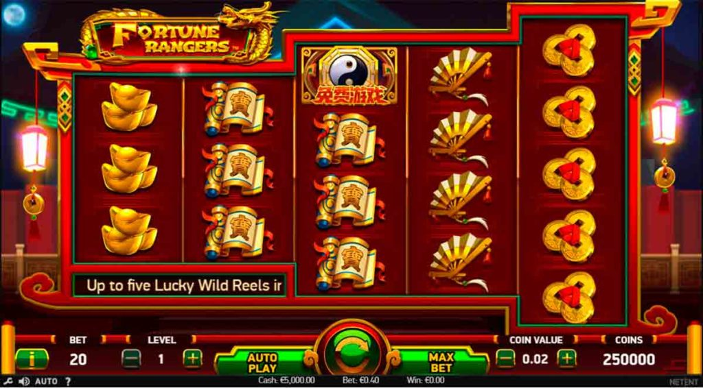 Play Free Fortune Rangers Slot