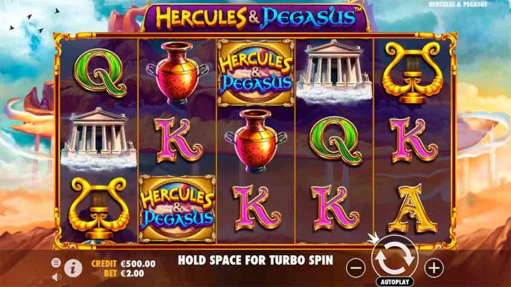 Play Free Hercules & Pegasus Slot