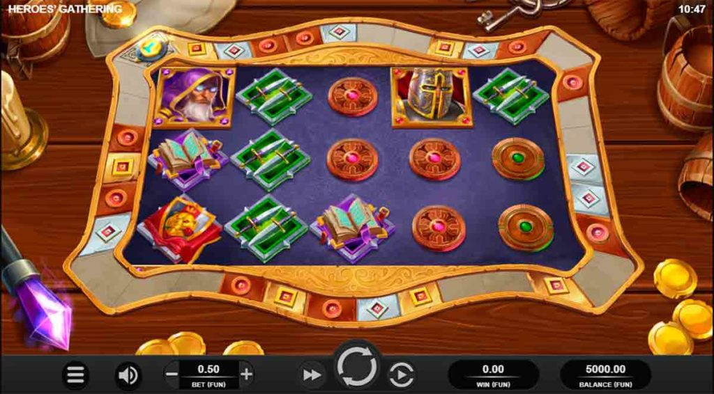 Play Free Heroes Gathering Slot
