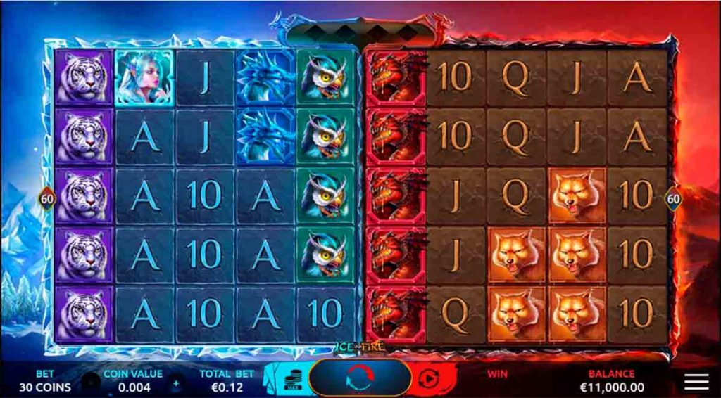Play Free Ice and Fire Slot