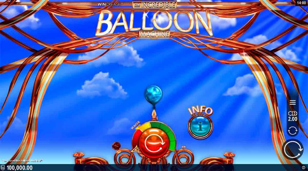 Play Free Incredible Balloon Machine Slot
