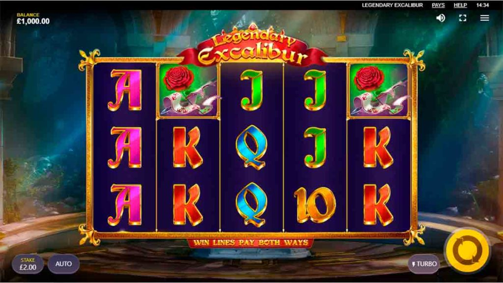 Play Free Legendary Excalibur Slot
