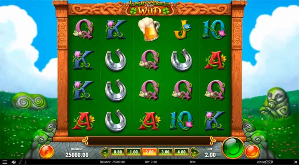 Play Free Leprechaun Goes Wild Slot