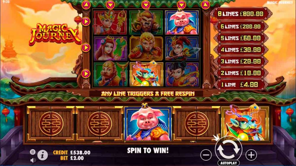 Play Free Magic Jorney slot