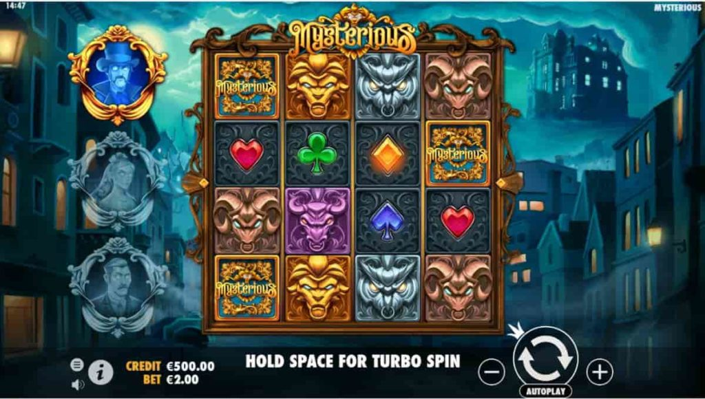 Play Free Mysterious Slot