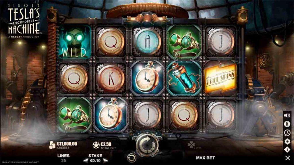 Play Nikola Tesla's Incredible Machine Free Slot