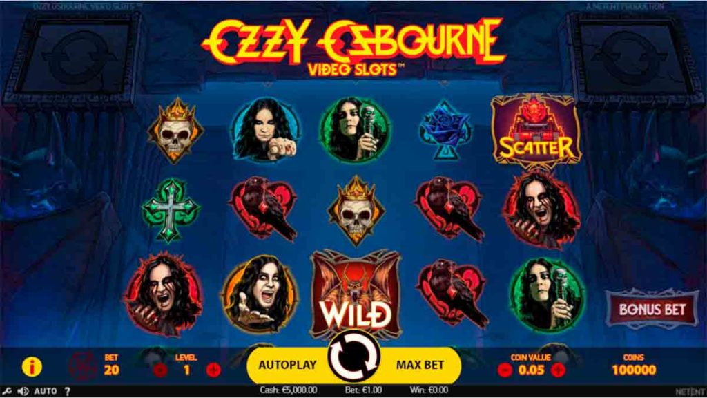 Play Free Ozzy Osbourne Slot