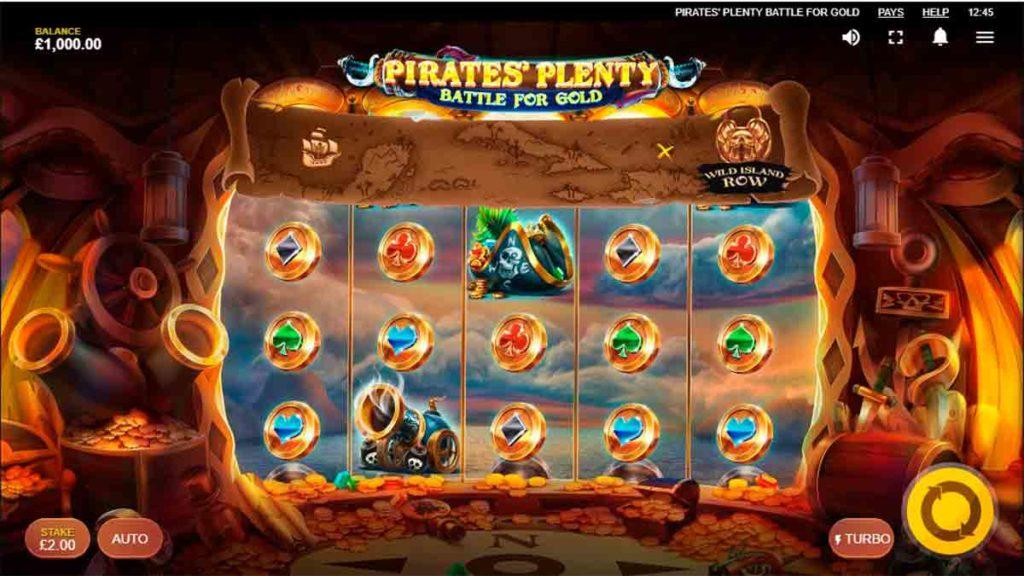 Play Pirates Plenty Battle for Gold Free Slot