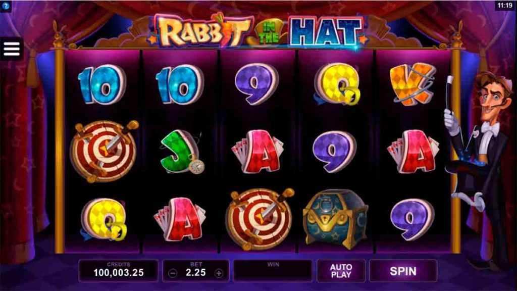 Play Rabbit in the Hat Free Slot