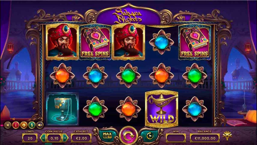 Play For free Sahara Nights Slot