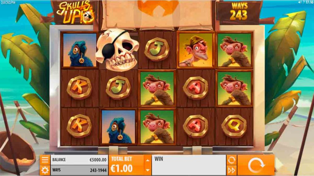 Play For Free Skulls UP Slot