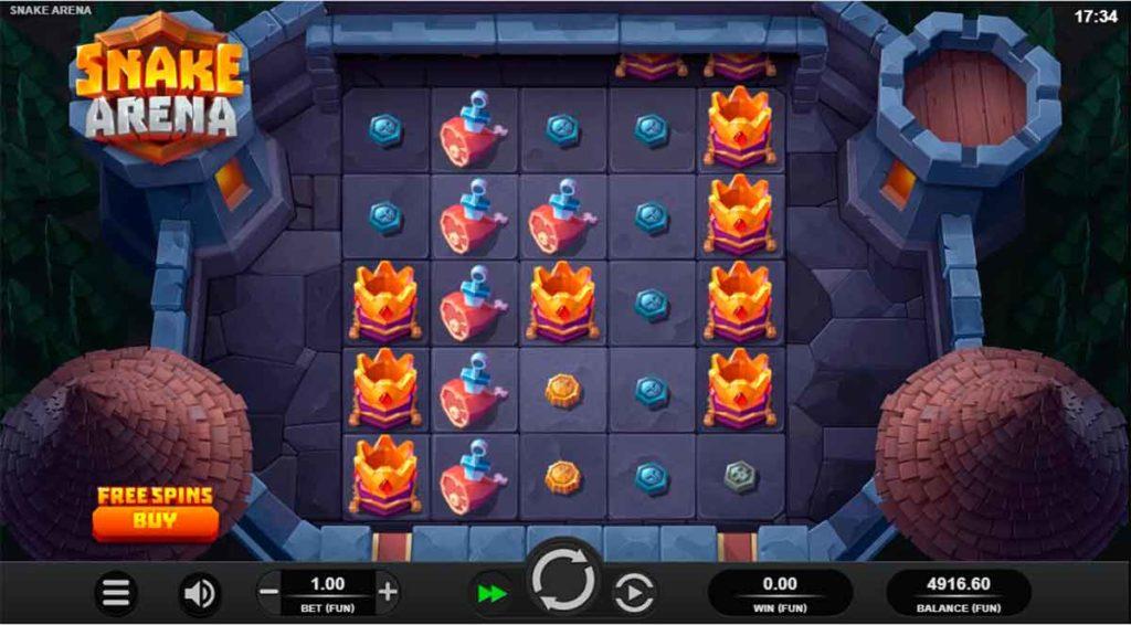 Play Free Snake Arena Slot