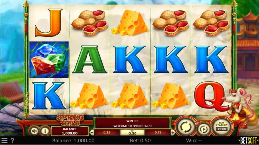 Play Free Spring Tails Slot