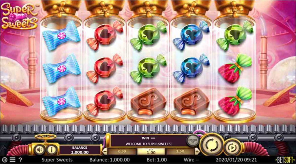 Play Free Super Sweets Slot