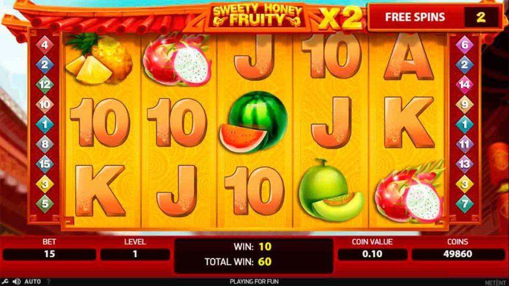 Play Free Sweety Honey Fruity Slot