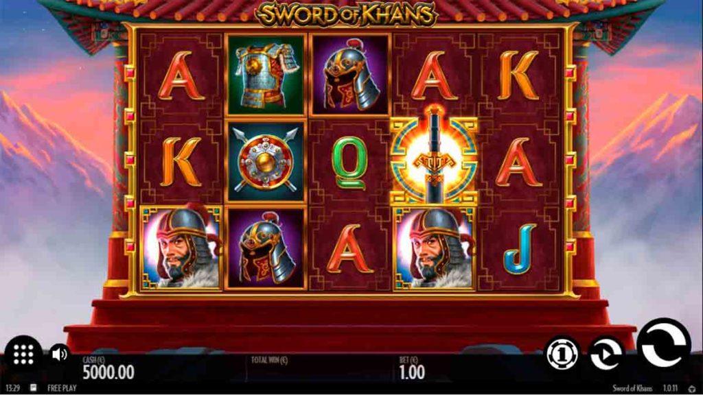 Play Free Sword of Khans SLot