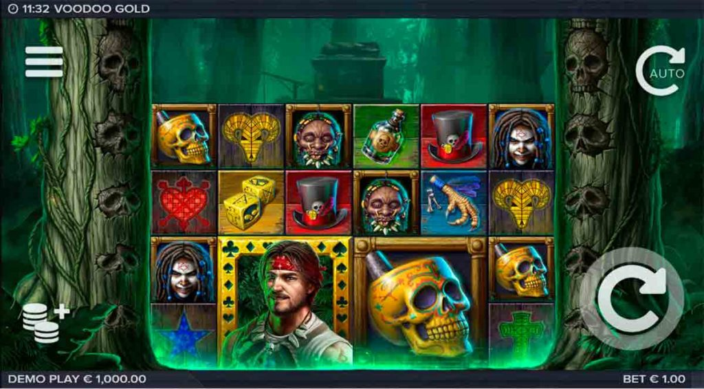 Play Free Voodoo Gold Slot