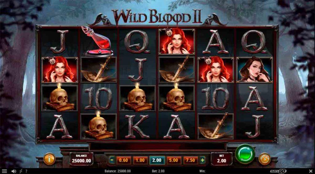 Play Free Wild Blood 2 Slot