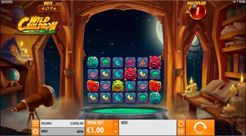 Play Free Wild Cauldron Slot