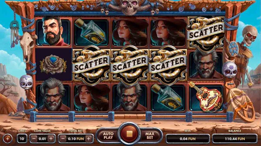 Play For Free Golden Skulls Slot